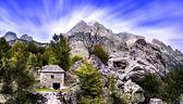 Albanian Mountains - Bjeshket e Tropojes — Stock Photo