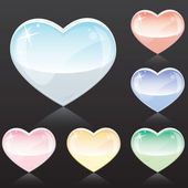 Tender Hearts — Stock Vector