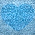 Jeans heart — Stock Vector #11388065