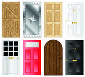 Vector doors — Stock Vector