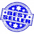 Best Seller Rubber Stamp — Stock Vector