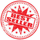 Best Seller Rubber Stamp — Stock Vector