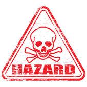 Biohazard-stempel — Stockvektor