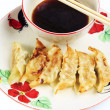 Stock Photo: Fried dumplings.
