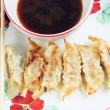 Fried dumplings. — Stock Photo