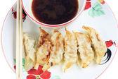 Fried dumplings. — Stock Photo