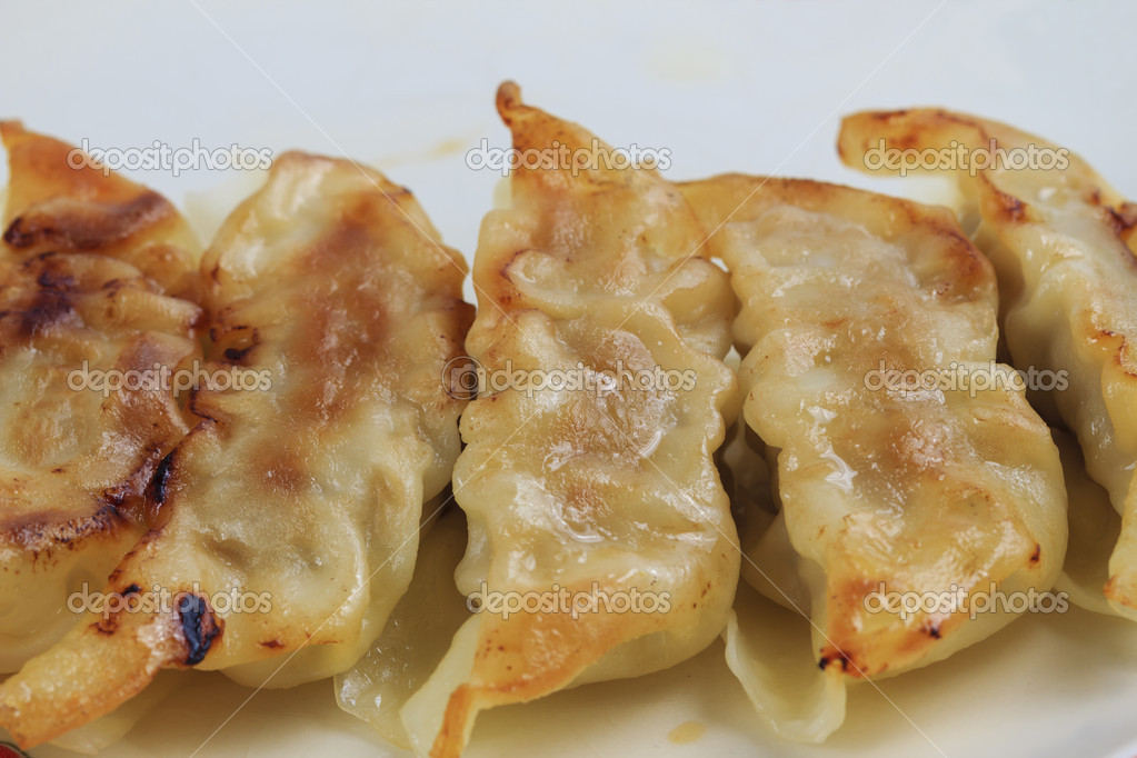 Fried dumplings. — Stock Photo #11107279