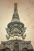 Giant Thai background (created and designed by the photographer) — Стоковое фото