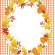 Stock Vector: Fall design