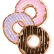 Royalty-Free Stock Vector Image: Doughnut rings