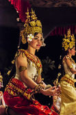 Aspara celestrial dancers — Stock Photo