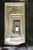 Walkway of Bayon — Stock Photo