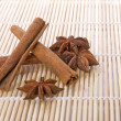 Anise with cinnamon - Stock Photo