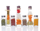 Decorative preserved vegetables and spice — Stock Photo