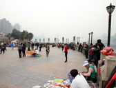 Chongqing Square — Stock Photo