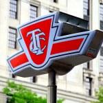 Toronto Transit Commission Symbol — Stock Photo #11065625