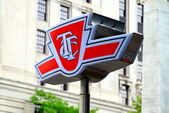 Toronto Transit Commission Symbol — Stock Photo