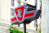 Toronto Transit Commission Symbol — Stock Photo