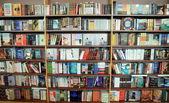 Bookstore Bookshelf — Stock Photo