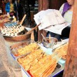 Chinese Street Food Vendor — Stock Photo
