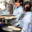 Stock Photo: Chinese Waitress