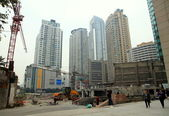Chinese Construction Site — Stock Photo
