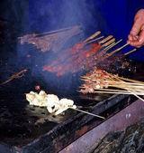 中国街食品 — 图库照片
