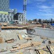 Stock Photo: Toronto Construction Area
