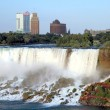 Stock Photo: NiagarFalls and Casino