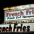 Stock Photo: French Fries Sign