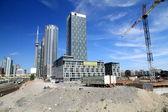 Toronto Construction Area — Stock Photo