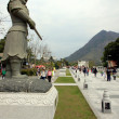 Tian Tan Buddha Area — Stock Photo