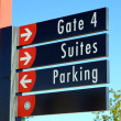 Stadium Sign — Stock Photo #12392195