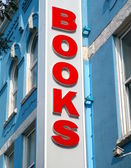 Books Sign — Stock Photo