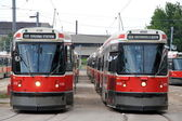 Toronto Streetcars — Stock Photo