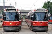Toronto Streetcars — Stock Photo