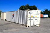 Skladovací kontejner — Stock fotografie