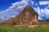 Sun Temple, Konark, India, side view — Fotografia Stock