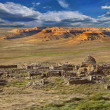 Stock Photo: View of ancient Muslim cemetery