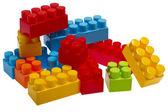 Lego plastic toy blocks — Stock Photo