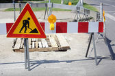 Roadworks — Stock Photo