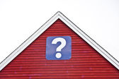 Real Estate Questions — Stock Photo