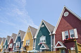 Row of Colorful Houses — Stock Photo