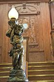 Statua su scalone del titanic — Foto Stock