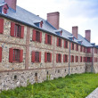 Stock Photo: Fortress Louisbourg Bastion Barracks