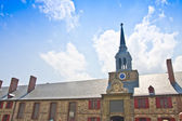 Fortress Louisbourg Bastion Barracks and Bell Tower — Stock Photo