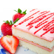 Strawberry Cake — Foto Stock