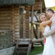 Wedding couple — Stock Photo #10773848