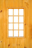 Wooden window frame — Stock Photo