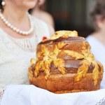 Wedding bread — Stock Photo #12372396
